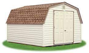 Pine Creek 12x24 Dutch Garage by Mini Barns Pine Creek Structures