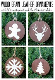decoart crafts wood grain leather ornaments