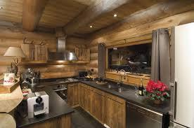 cuisine chalet montagne cuisine de chalet inspiration nordique chalet