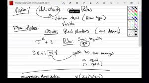 discrete mathematics rosen section 1 1 youtube
