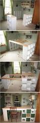 Diy Corner Hutch Diy Desk Incredible Best Ideas About On Pinterest Office Stress
