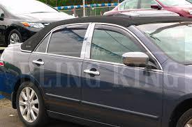 honda accord trim levels 2012 honda accord chrome pillar post trim