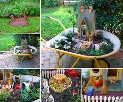 wheelbarrow fairy garden ideas you u0027ll love video tutorial