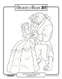 disney beauty beast coloring pages images coloring disney