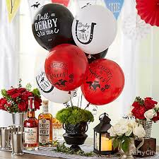 balloon centerpiece ideas kentucky derby party balloon centerpiece sports theme party