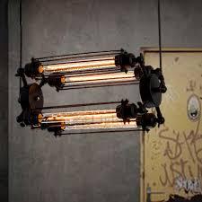 Lighting Fixtures Industrial by Creative 4 Light Metal Fixture Industrial Chandelier Lighting
