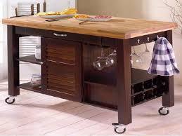 stainless steel kitchen island on wheels portable kitchen island with butcher block top kitchen