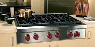 Slide In Cooktop Wolf 48 Gas Range 48 In Gas Cooktop In Stainless Steel With