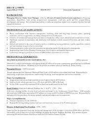 Example Resume  Sales Director And Strategic Manager For Real