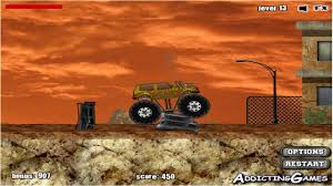 monster trucks video games cool math games for kids monster truck demolisher gameplay