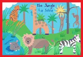Kids Jungle Rug Kids Prints And Graphics By Lauren Mcmullen At Coroflot Com