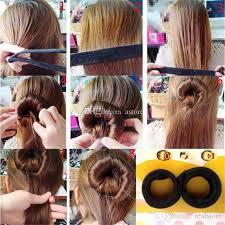 bun maker new arrivals fashion korean style hair styling tool hair bun maker