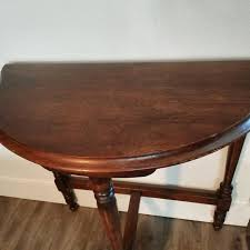 antique half moon table best antique half moon table for sale in victoria british columbia