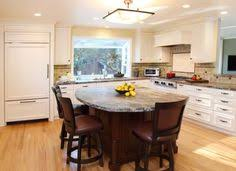 Kitchen Island As Dining Table Kitchen Center Island With Round Table At End Wood Kitchen