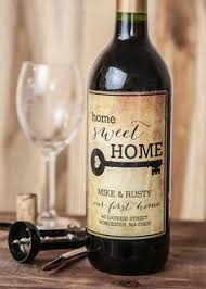 the perfect housewarming gift includes free printable wine label