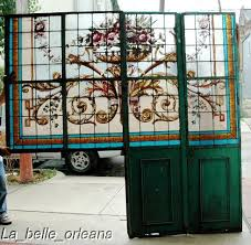 antique stained glass doors for sale stunning huge stained glass wall divider 9ft h x 7 u00278w for sale