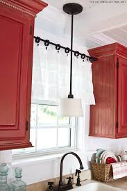 Fancy Kitchen Curtains by Best 25 Tension Rod Curtains Ideas On Pinterest Kitchen
