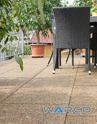 warco rubber floor tiles balcony gallery