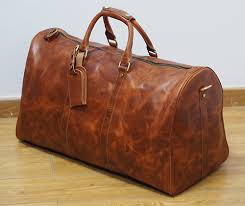 Arizona travel bags for men images Large handmade vintage leather travel bag luggage duffle bag jpg