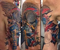 38 amazing running race tattoos runner u0027s world