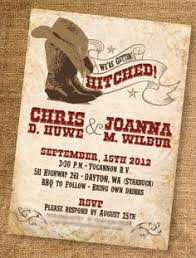 western wedding invitations western wedding invitations rectangle brown classic