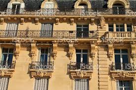 Architecturals Architecturals Styles And Monuments Of Montpellier France Stock