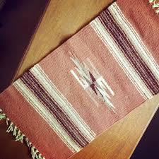 Wool Runner Rugs Navajo Woven Table Runner Wool Runner American Textiles