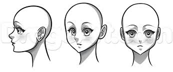 drawing an anime face step by step anime people anime
