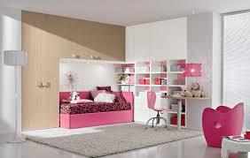 bedroom design unique girls desks with paint concrete floor for