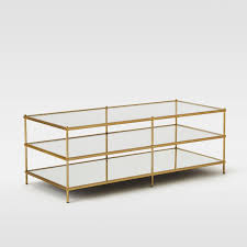 glass coffee table with glass shelf terrace coffee table west elm uk
