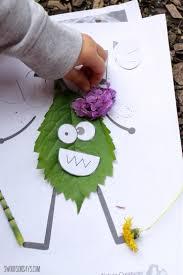 nature art ideas u0026 nature crafts for kids printable pdf pack