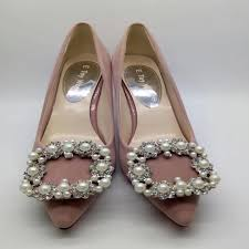 Wedding Shoes Luxury Brand 2017 Spring Women U0027s Pumps Rhinestone Wedding Shoes