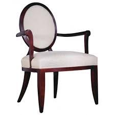 Barbara Barry Armchair Baker Barbara Barry Oval X Back Dining Arm Chair