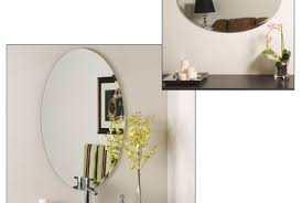 mirror frameless bathroom mirror wonderful frameless beveled