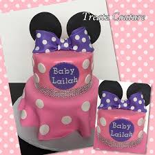 minnie mouse baby shower cake cakeupartist baby babyshower