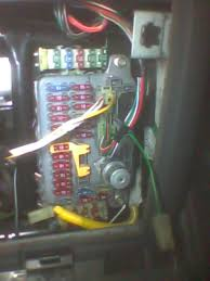 land rover fuse box disconnected fusebox connections land rover
