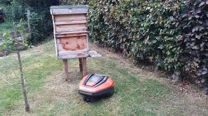 Alternative To Grass In Backyard by Flymo 1200r Review The Robot That Mows The Lawn While You Wait