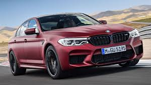 red bmw 2017 f90 bmw m5 first edition gets frozen dark red paint 400 units