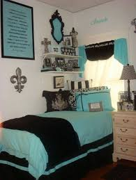 Best Tiffany Blue Bedroom Images On Pinterest Tiffany Blue - Blue and black bedroom designs