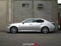 lexus compatible wheels new application tanabe nf210 springs for 2013 lexus gs350 f sport
