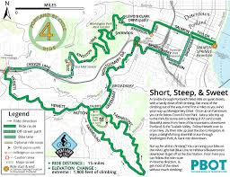 Oregon Zoo Map by Best Bike Rides Around Portland Maplets