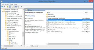 change calendar layout outlook 2013 disable outlook s reading pane