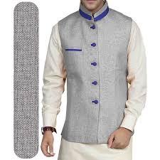 modi dress modi pattern jacket jute fabric by gwalior gray mk jh 101