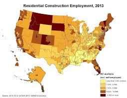 Florida Congressional Districts Map by Nahb Releases New Home Building Employment Estimates By State And