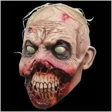 skin mask halloween rotten gums zombie mask mad about horror