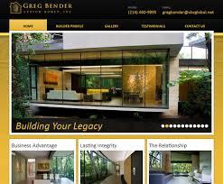 dallas custom home builder gets new website red spot design