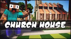 Church House Minecraft Church House Youtube