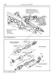 Cv Half Shaft Assembly by Au Wsm Page 1 Of 16