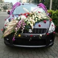 Wedding Car Decorations Wedding Car Decoration In Bengaluru