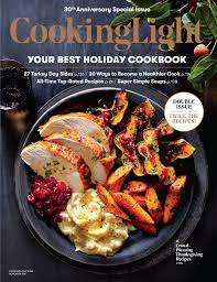 november 2017 magazine features cooking light